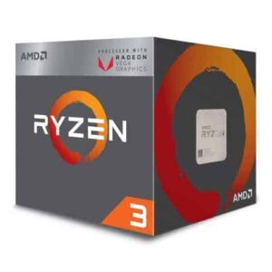 AMD Ryzen 3 2200G CPU with Wraith Cooler