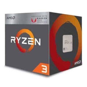 AMD Ryzen 3 3200G CPU with Wraith Stealth Cooler