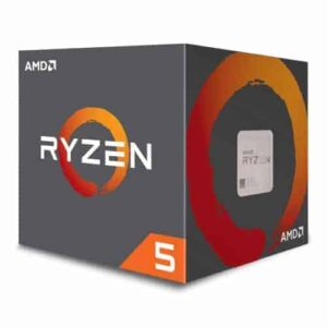 AMD Ryzen 5 2600 CPU with Wraith Cooler