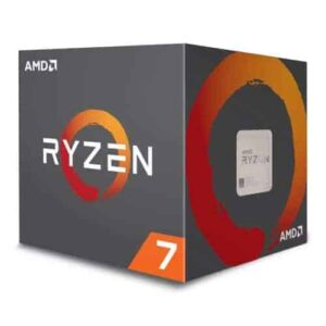AMD Ryzen 7 2700X CPU with Wraith Cooler