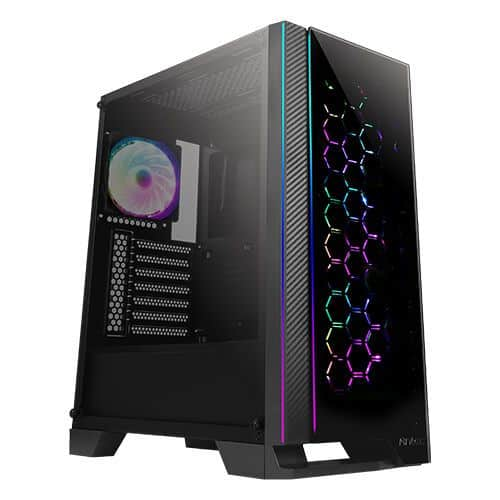 Antec NX600 ATX Gaming Case with Glass Window & Front Panel