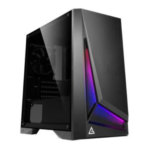 Antec DP301M Dapper Dark Phantom Gaming Case with Window