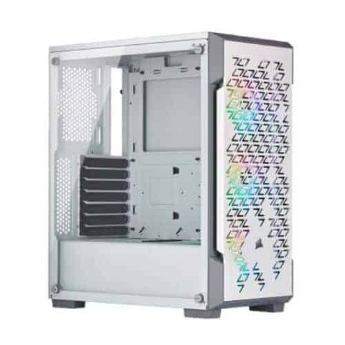 Corsair iCUE 220T RGB Airflow Gaming Case with Tempered Glass Window