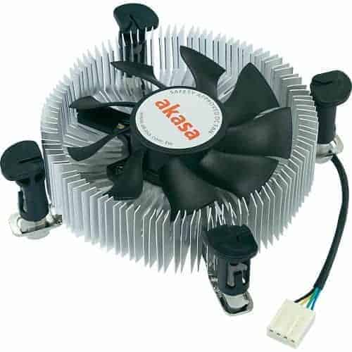 Akasa AK-CCE-7106HP Heatsink and Fan