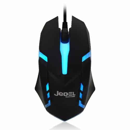 Jedel (M66) Wired Optical LED Gaming Mouse