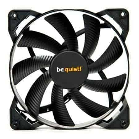 Be Quiet Bl047 Pure Wings 2 14cm Case Fan Rifle Bearing Black Ultra Quiet Dragonblaze