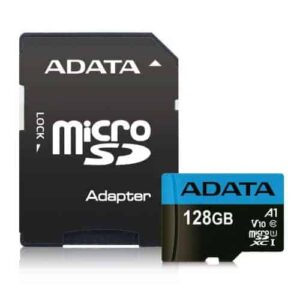 ADATA 128GB Premier Micro SDXC Card with SD Adapter